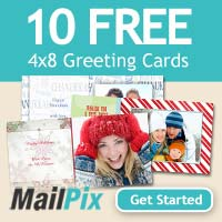 10 Free Holiday Photo Cards