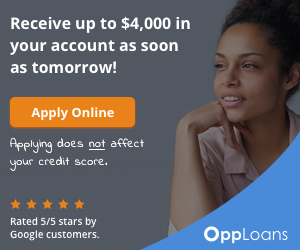 Get approved for up to $4,000 from OppLoans