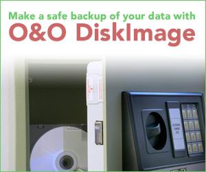 Backup your PC with O&O DiskImage