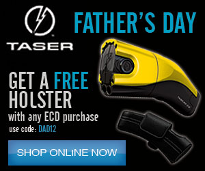 Get a free holster with your TASER C2 Today!