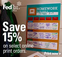 FedEx Office Promo Code 15% Off
