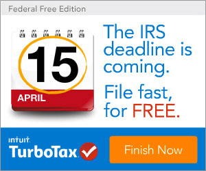The IRS deadline is coming. File fast, for FREE with TurboTax.