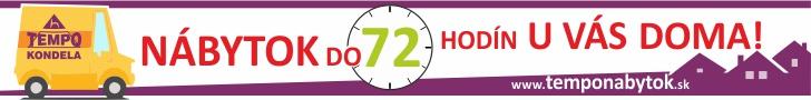 Temponabytok.sk: Do 72 hodín u vás doma!