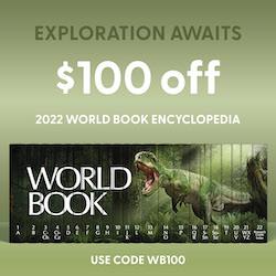 10% Off World Book Encyclopedias