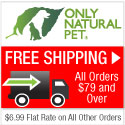 Only Natural Pet Store has free shipping on orders over $69