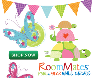 RoomMates Kids Wall Decals