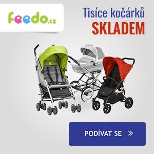 Feedo.cz: Tisíce kočárků skladem