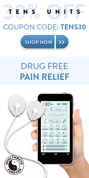 August Deals are now here! Start a Pain-Free Journey with our TENS Devices. Use Coupon Code: TENS30