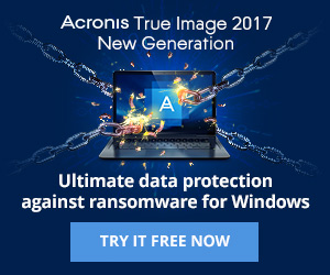 Acronis True Image 2018 New Generation