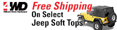 Free Shipping On Select Soft Tops