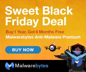 Malwarebytes Black Friday Deal - 6 Months Free