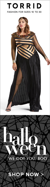 torrid fashions for halloween