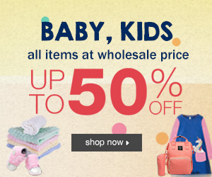 Up to 50% Off Baby, Kids & Maternity!