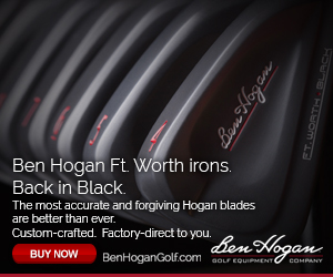 Ft. Worth BLACK irons Ben Hogan Golf