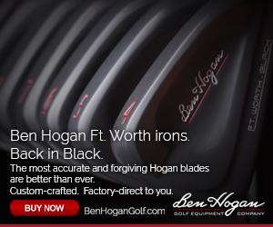 Ft. Worth BLACK irons Ben Hogan Golf