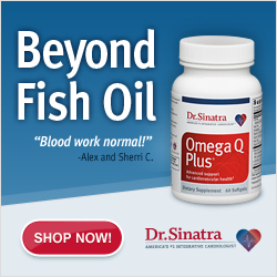 OmegaQ with CoQ10