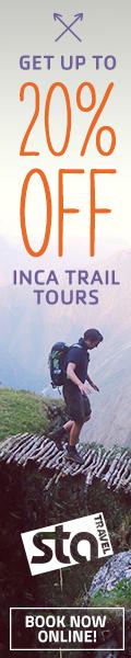 STA Travel Inca Trail tours