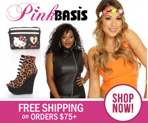 Free Shipping on orders $75+ at PinkBasis.com!Shop now!