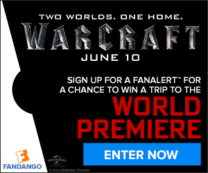 Fandango Warcraft FanAlert Sweepstakes