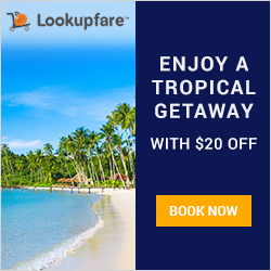 Tropical getaway, beach destination travel