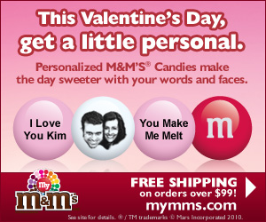 Make any event special with personalized MY M&M�S�