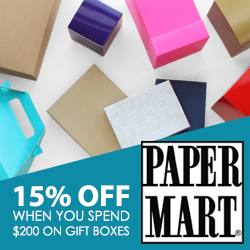 PaperMart_15% off Gift Boxes over $200