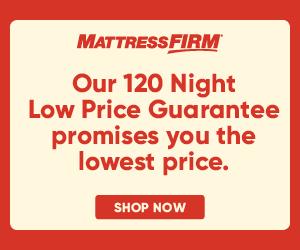 Mattress Firm Low Price Guarantee Banner