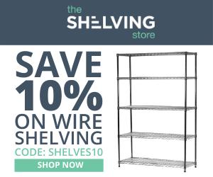 Shelving Inc. - 300×250 TSS Wire Shelving 10% OFF Coupon