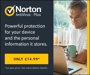 Norton Antivirus Plus - 1st Year Intro at £14.99