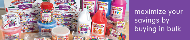 Stock Your Classroom With Colorations Bulk School Supplies From Discount School Supply!