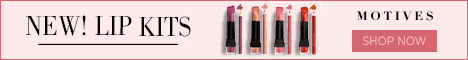 New! Motives Cosmetics Lip Kits. New Customers use FIRST25OFF to save 25%.