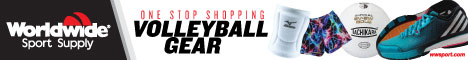 Shop Volleyball Gear from Worldwide Sport Supply