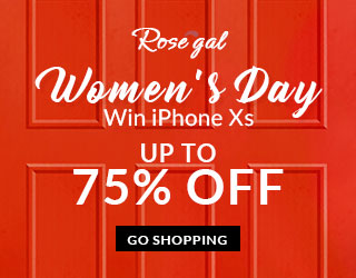 Women's Day Win iPhone Xs! Up to 75% OFF