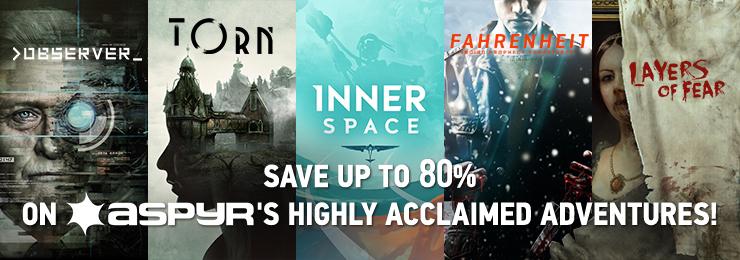 GamersGate - Aspyr Originals Save Upto 80% OFF