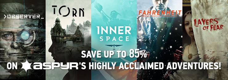 GamersGate - Save Upto 85% OFF On All Aspyr Originals