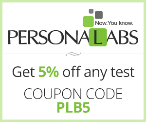 5% off any Personalabs order with Code: PLB5