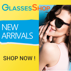 Need a NEW look?  New Arrivals are IN!  Available for a limited time at GlassesShop.com