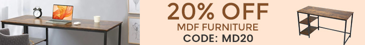 Furniture Hot Sale! 20% Off on All Tables & Chairs! Code: MD20.
