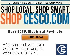 Shop Local. Shop Smart. Shop cesco.com! Over 200K electrical Products!