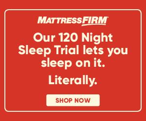 Mattress Firm Sleep Trial Banner