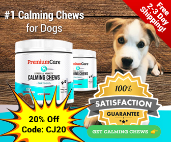 336x280 Stress & Anxiety Calming Chews 20% OFF Coupon