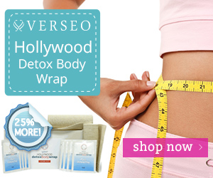 Verseo Hollywood Detox Body Wrap Lose Inches Instantly