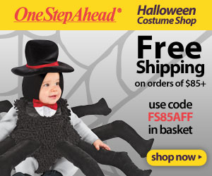 Halloween Costume Shop! Free Shipping $85+