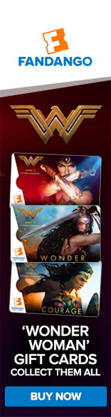 Fandango - Wonder Woman Exclusive Gift Cards