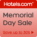 Memorial Day sale! Save up to 30%! Book by 5/27, Travel by 6/17