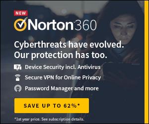 Norton360 by Symantec 300x250