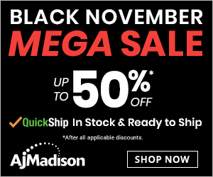 AJMadison discount coupon code black friday