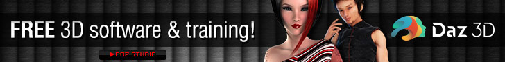 Free 3D Software and Training at DAZ3D