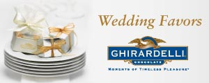 Wedding & Party Favors from Ghirardelli Chocolate