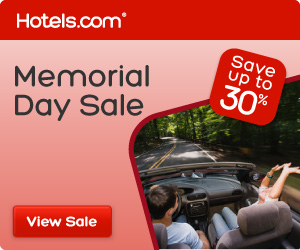 Hotels.com Memorial Day Sale
